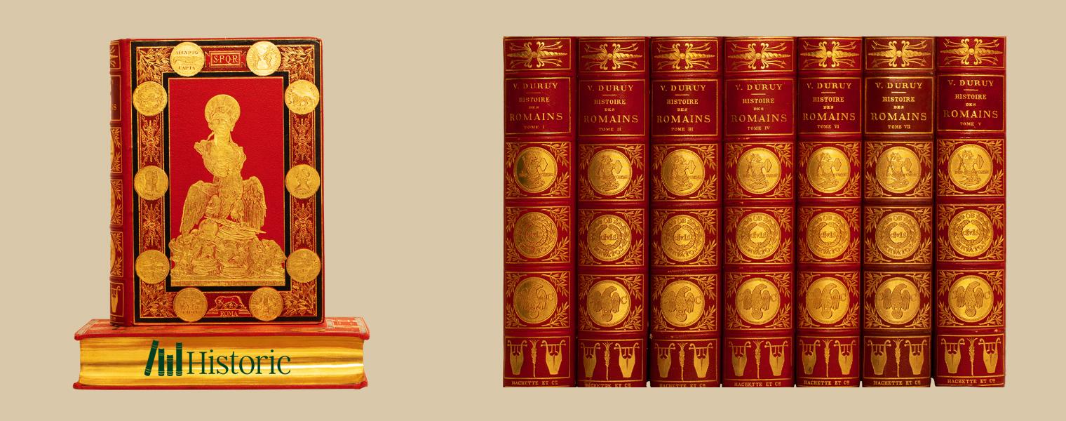 """Licitația """"Istoria Romanilor"""" - Mari istorici si operele lor Partea 1"""