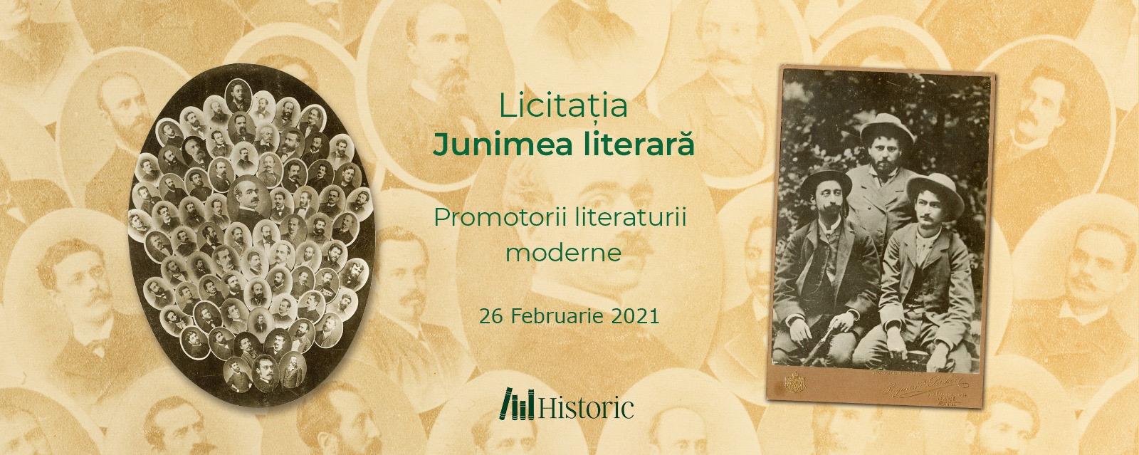 Licitația Junimea literară