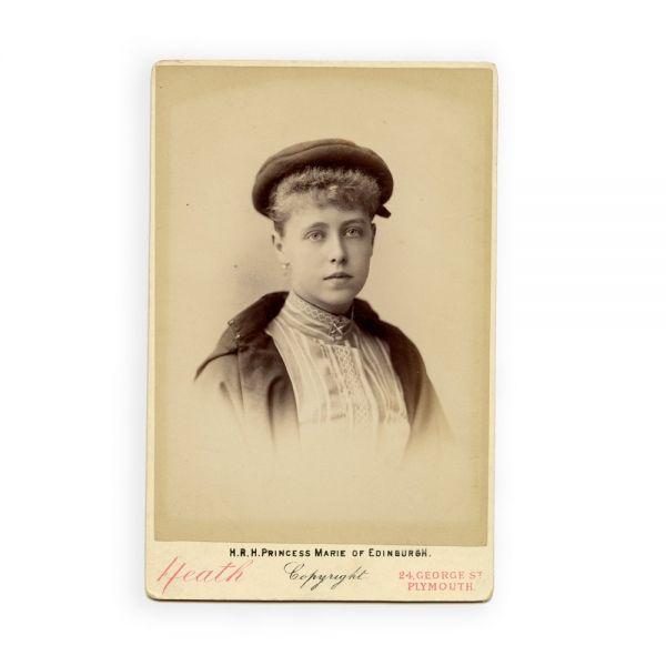 Principesa Maria de Edinburgh, fotografie de cabinet, atelier Heath
