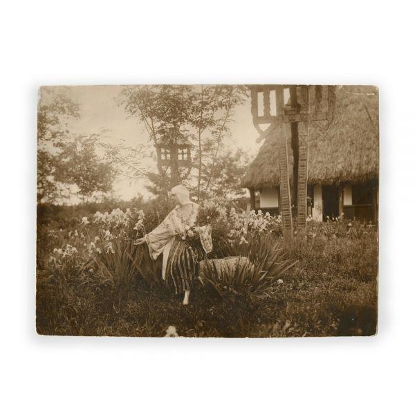 Regina Maria la Bran, fotografie de epocă, cca. 1924