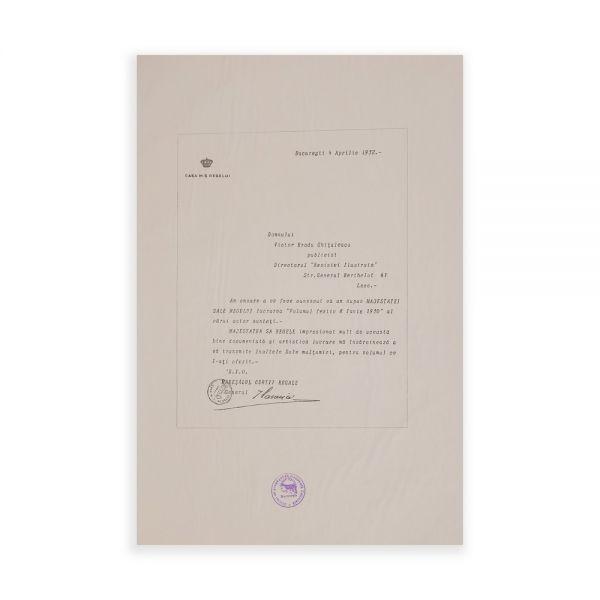 Revistă Ilustrată, număr festiv - Proclamarea M.S. Regelui Carol al II-lea - Piesă rară