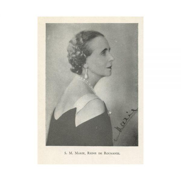 Marie Reine de Roumanie, Histoire de ma vie, cu semnătură olografă