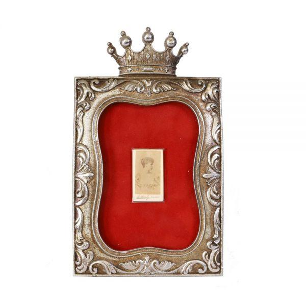 Principesa Maria, fotografie în miniatură, atelier Franz Mandy