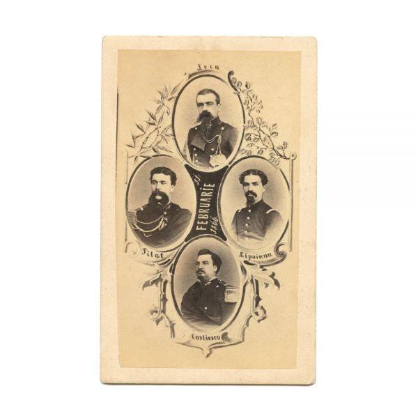 Guvernul Ion Ghica și guvernul Lascăr Catargiu, patru fotografii de epocă, 1866