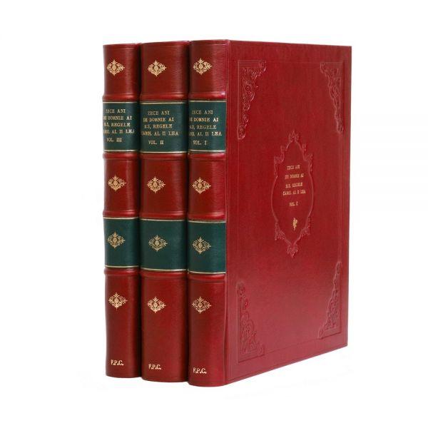 Zece ani de domnie ai Majestății Sale Regelui Carol al II-lea, 1940, 3 volume
