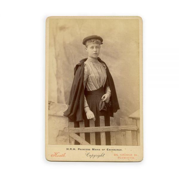 A.S.R. Principesa Maria de Edinburgh, fotografie de cabinet, atelier Heath