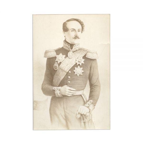 Grigore Alexandru Ghica, fotografie de epocă, cca. 1900