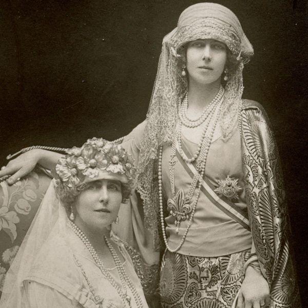 Regina Maria și Ducesa Victoria Feodorovna, 1922