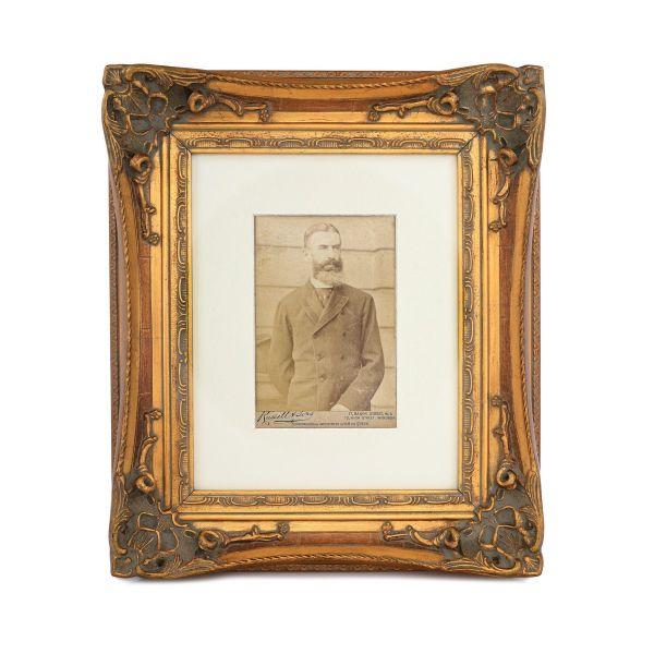Regele Carol I al României, fotografie de cabinet, atelier J. Russell et Sons, cca. 1890