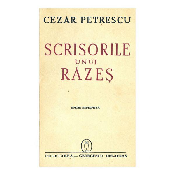 Cezar Petrescu, Scrisorile unui răzeș, cu autograf
