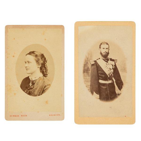 37. Regele Carol I și regina Elisabeta, fotografii