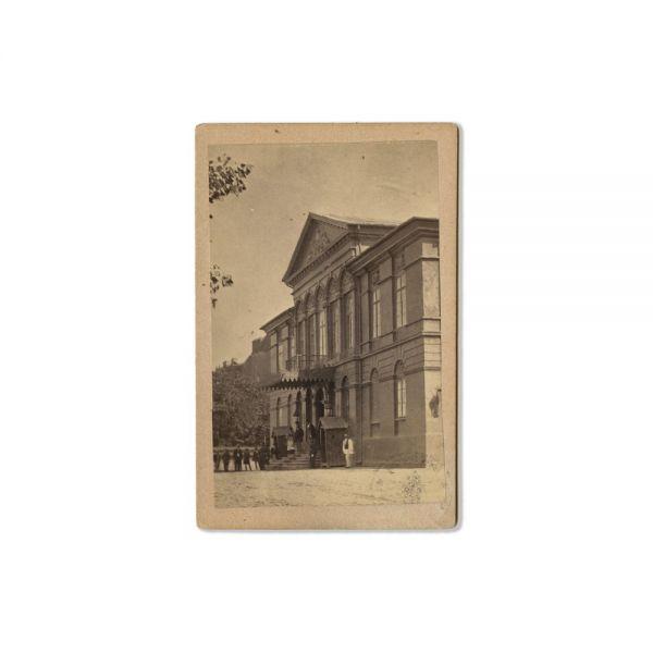 Casa Golescu, fotografie inedită, atelier M. Baer, cca. 1866