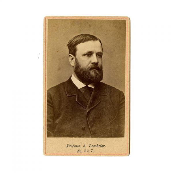 A. Lambrior, fotografie de epocă