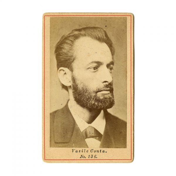 Vasile Conta, fotografie de epocă