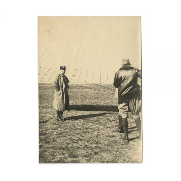 Regele Ferdinand și Regina Maria la un miting aviatic, 10 fotografii