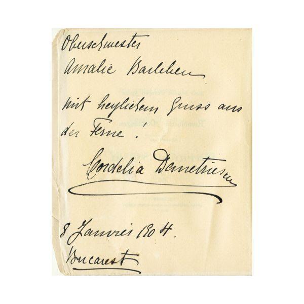 Poesii române traduse de CARMEN SYLVA, 1898