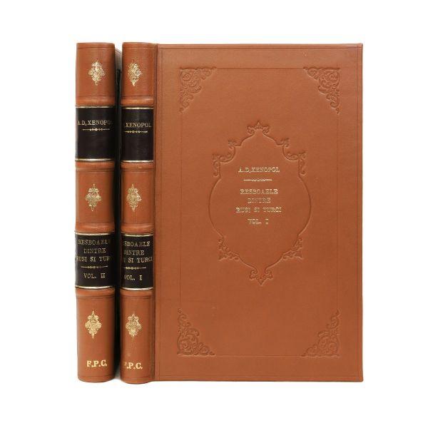 A. D. Xenopol, Războaiele dintre ruși și turci, 1880, două volume