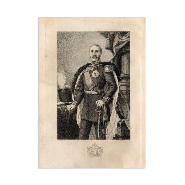 George Bibescu, Règne de Bibesco, cu dedicația autorului, 1893
