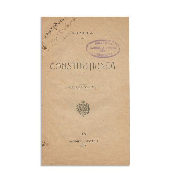 Constituția României, 1917