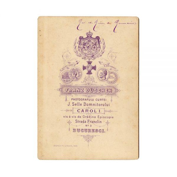 Regele Carol I și Regina Elisabeta, fotografie și acrostih olograf