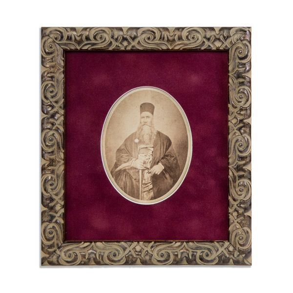 Popa Șapcă, fotografie de epocă, Piesă inedită