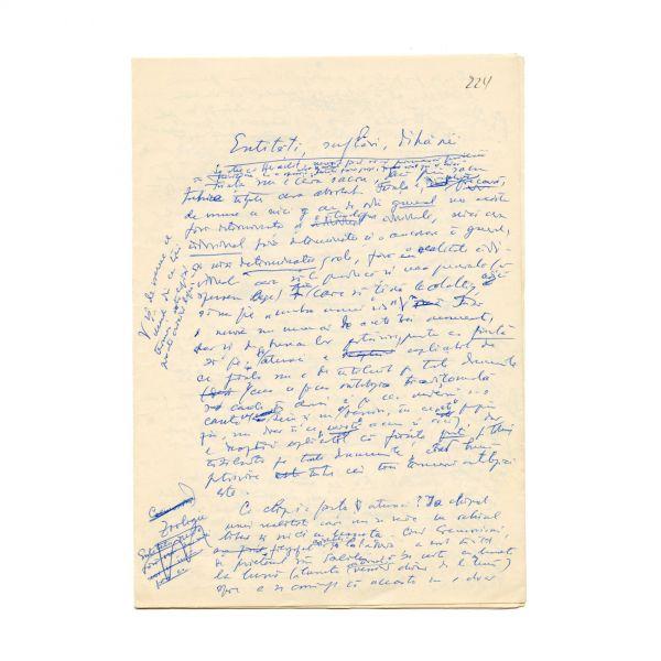 Constantin Noica, Entități, suflări, dihănii,  manuscris