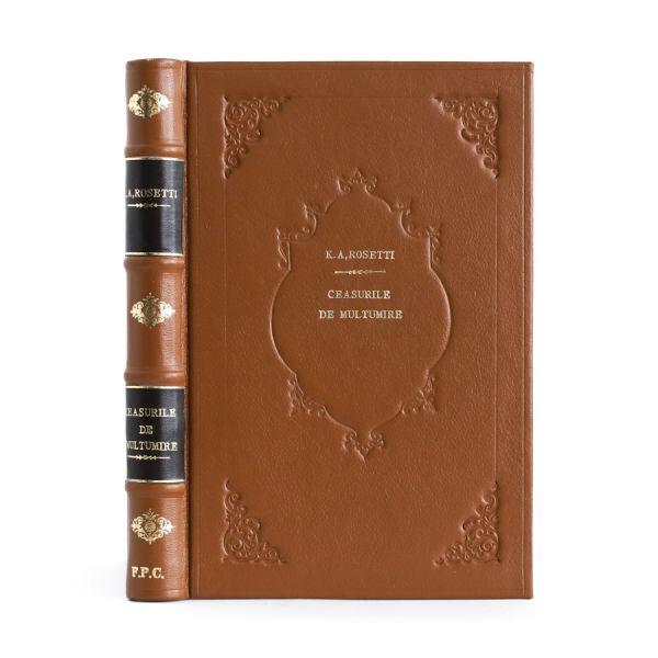 C. A. Rosetti, Ceasurile de mulțumire, 1843