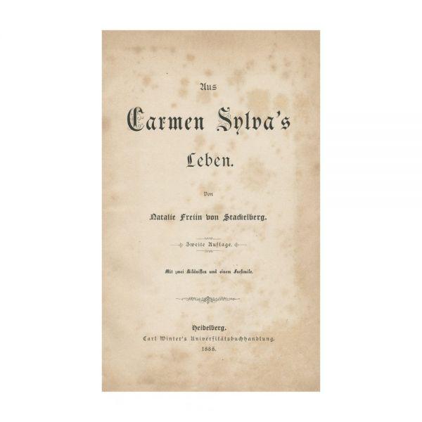 Natalie Freiin von Stackelberg, Din viața lui Carmen Sylva, 1885