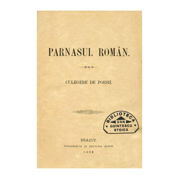 Parnasul Român. Culegere de poesii editată de Teochar Alexi, 1892