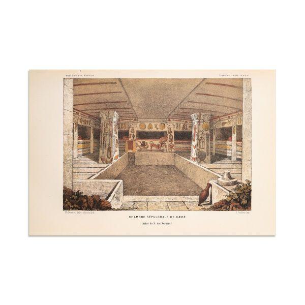 Victor Duruy, Histoire des Romains, 1879-1885 + fotografie + carte de vizită + scrisoare, 1870