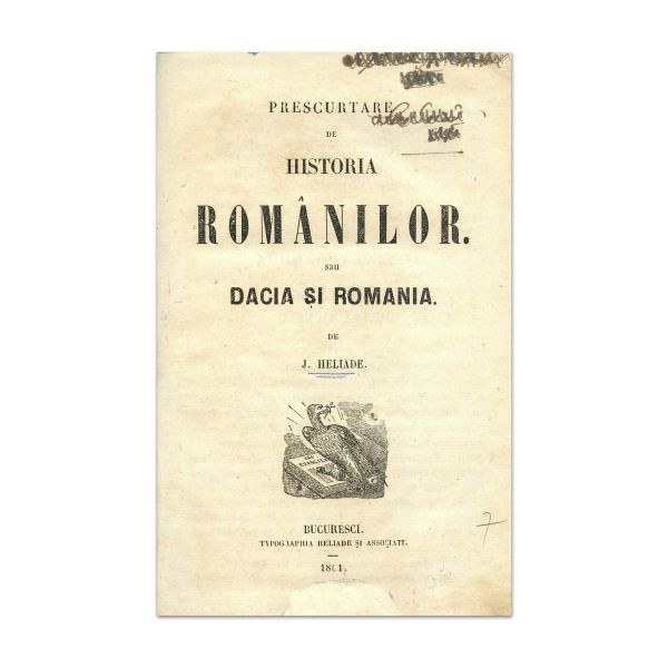 I. Heliade, Prescurtare de Historia Românilor, 1861