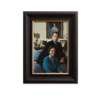 Sorin Radu, Regele Mihai I și Regina Ana la Versoix, fotografie de mari dimensiuni